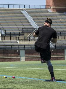 Tyler Anzmann pitching