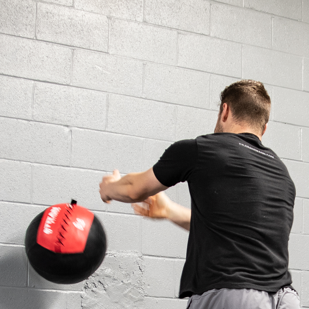 Medicine Ball Scoop Toss