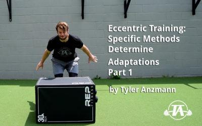 Eccentric Training: Specific Methods Determine Adaptations, Part 1