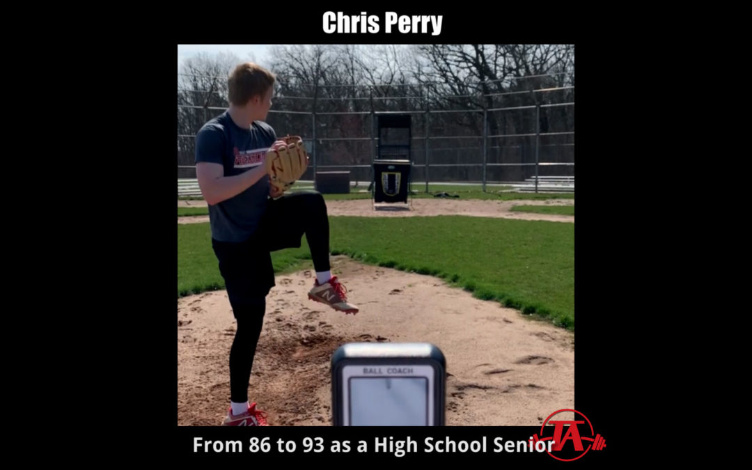 Chris Perry: From 86 mph to 93 mph