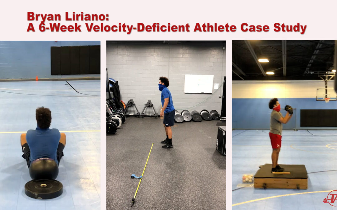 Bryan Liriano: A 6-Week Velocity-Deficient Athlete Case Study