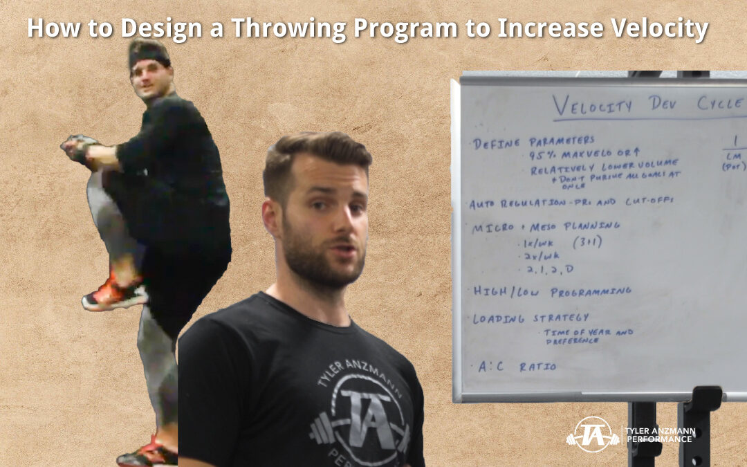 How to Design a Throwing Program to Increase Velocity